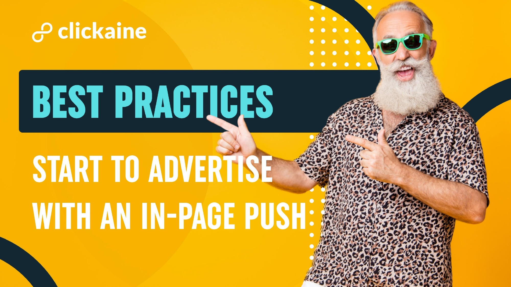 Start to advertise with an In-Page Push. Best practices.